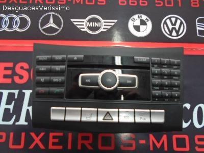 RADIO CD NAVEGADOR CLASE E W212